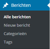 Tags categorieen